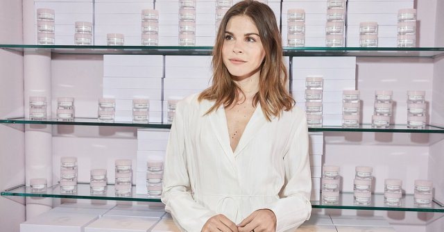 Emily Weiss, founder and CEO of beauty startup Glossier (Time)