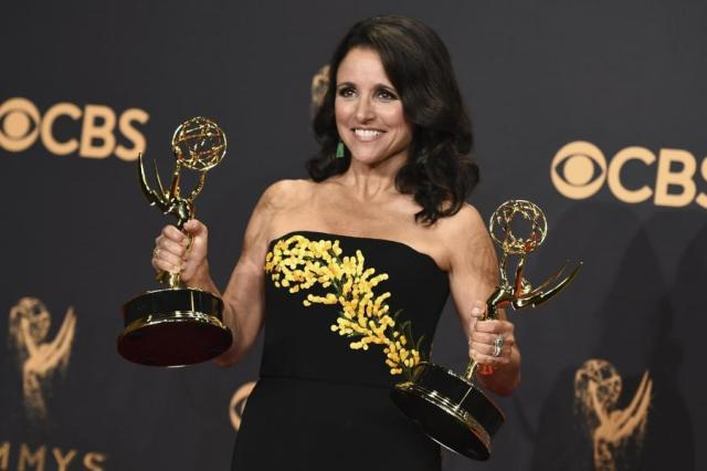 Julia Louis-Dreyfus, Emmys 2017 (Evening Standard)