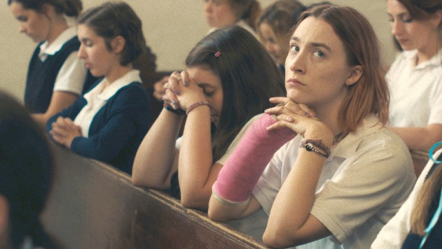 "Saoirse Ronan in ""Lady Bird"" (Fandango)"