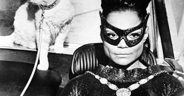 Eartha Kitt as Catwoman (Pinterest)