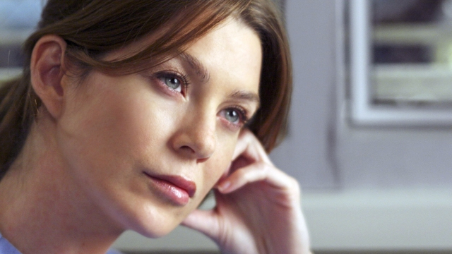 Ellen Pompeo in 'Grey's Anatomy' (Today)