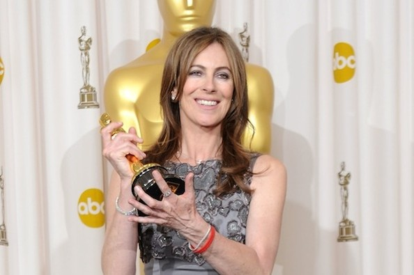 Kathryn Bigelow at the 2010 Oscars (Zimbio)