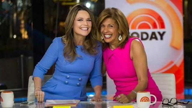Savannah Guthrie and Hoda Kotb of 'Today' (ET Online)