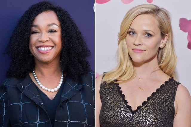 Shonda Rhimes and Reese Witherspoon (New York Post)