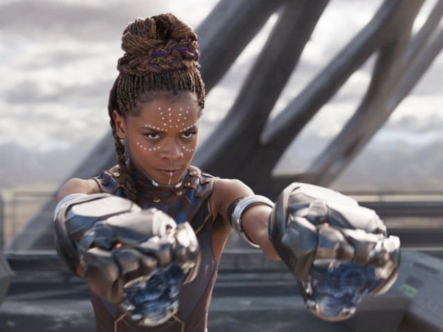 Shuri (Letitia Wright) in 'Black Panther, 2018 (ESPN FiveThirtyEight)