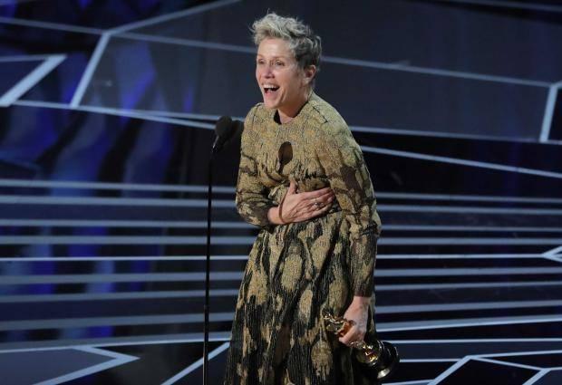 Frances McDormand, Oscars 2018 (The Independent UK)