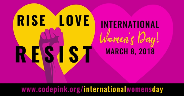 International Women's Day 2018 (Code Pink)