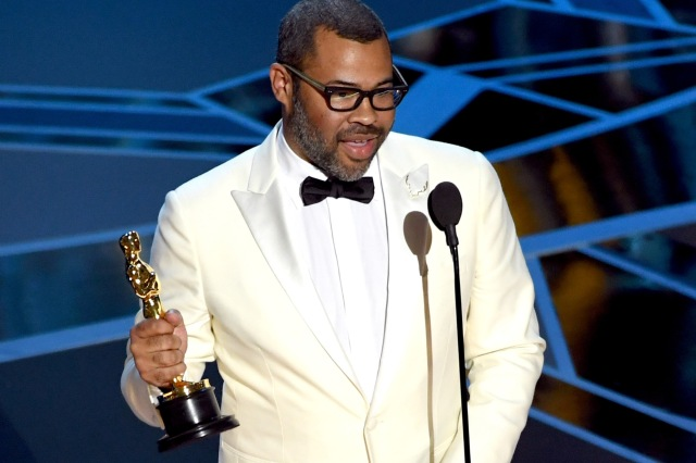 Jordan Peele wins the Best Original Screenplay Oscar at the 2018 Oscars (Time)