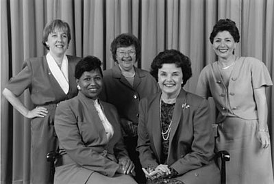 Democratic Women elected to the U.S. Senate in 1992 (Wikipedia)