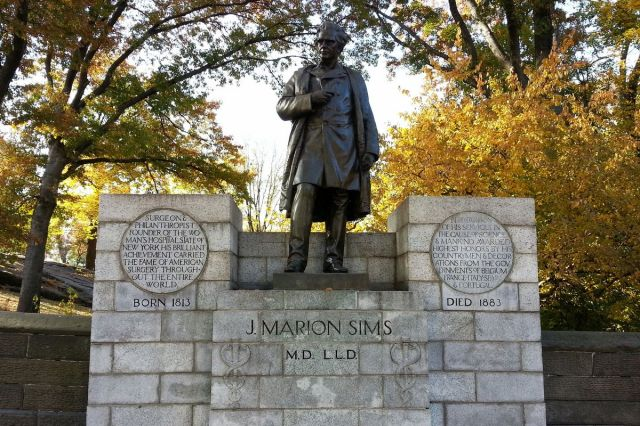 J. Marion Sims Statue in Central Park (Curbed NY)