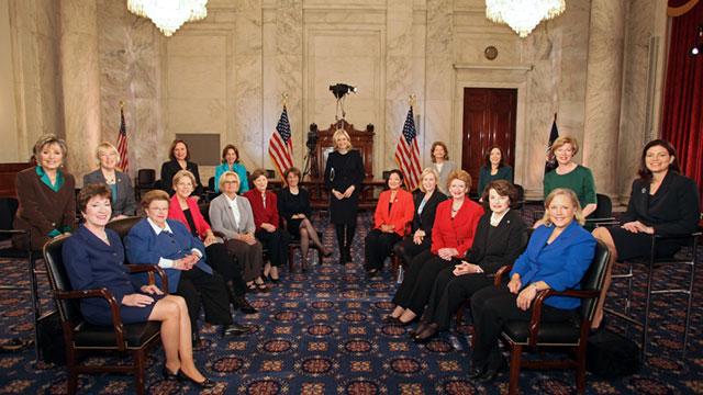 Women senators of the 113th Congress, 2013 (ABC News)
